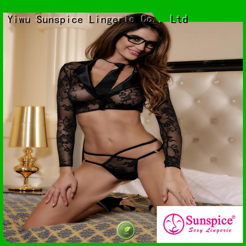Sunspice beautiful secretary costume sexy suitable for ladies