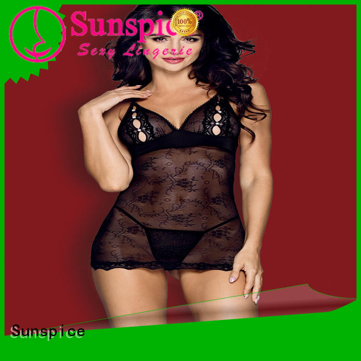 yellow babydoll lingerie female Sunspice