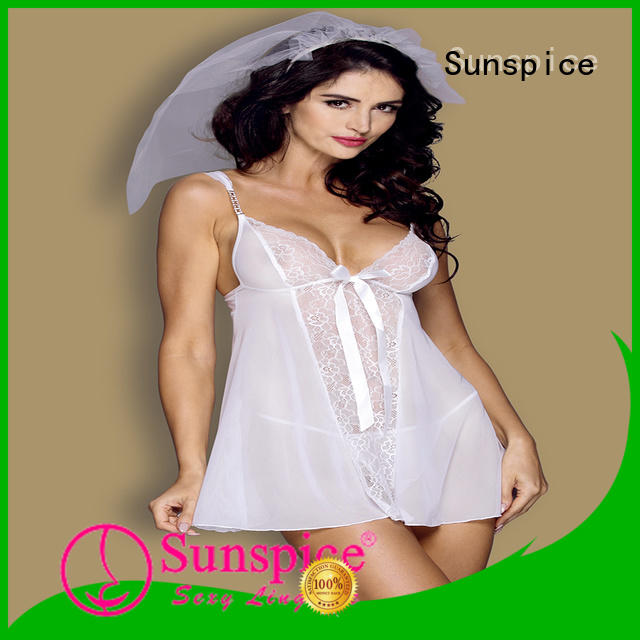 Sunspice stylish bridal nightgown suitable for ladies