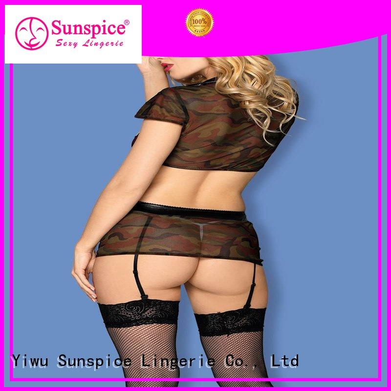 sexy army lingerie female Sunspice