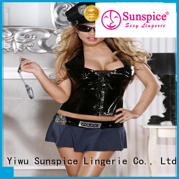 Sunspice sexy girl cop costume idea for ladies