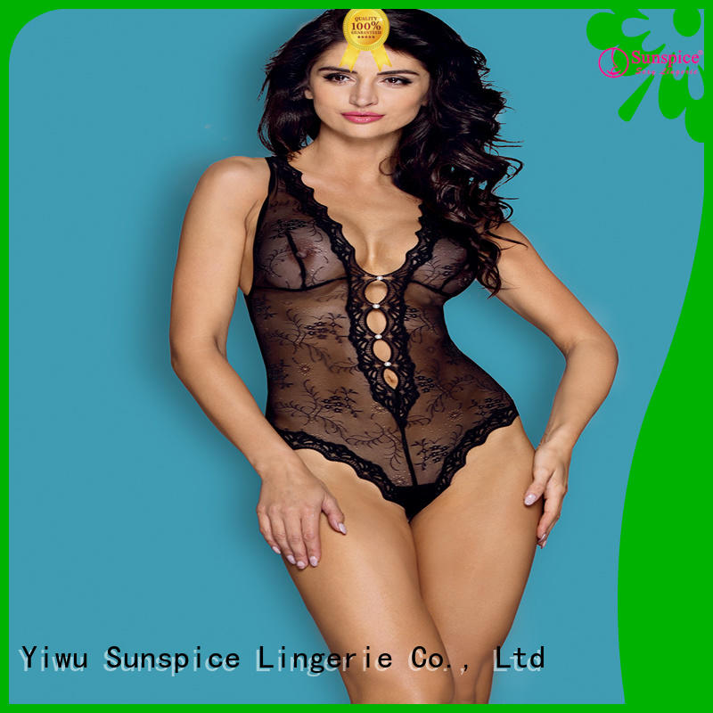 Sunspice lingerie cheap teddies for business for ladies
