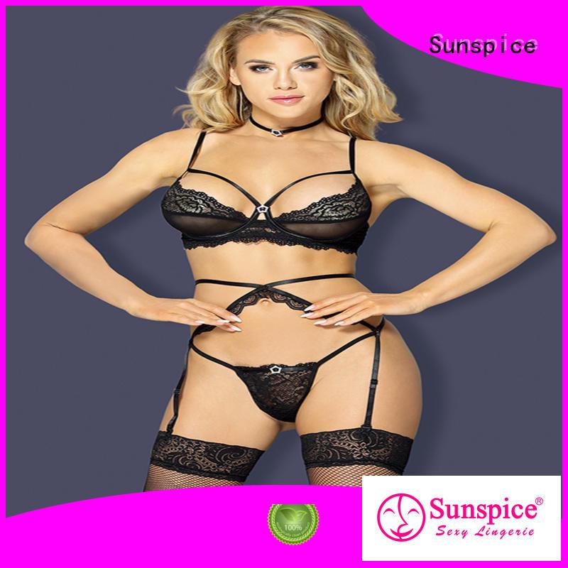 High-quality garter belt stocking set 3111031110c factory for female