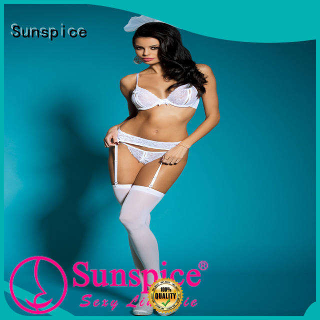 Sunspice Latest beautiful wedding night lingerie for business for female