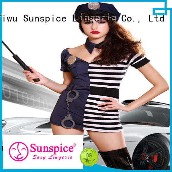 Sunspice best sexy police halloween costume idea for ladies