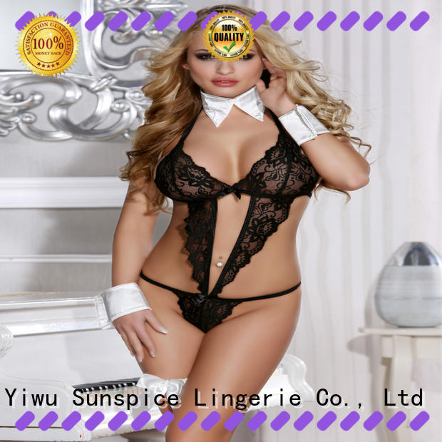 Sunspice Latest sexy secretary lingerie for business for ladies