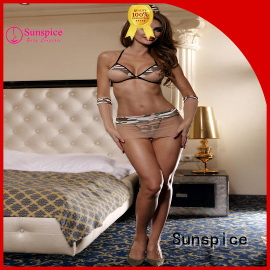 Sunspice High-quality sexy army dress up for sale for adults