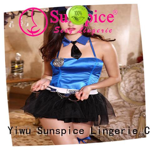 beautiful sexy cop fancy dress idea for female
