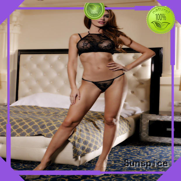 Sunspice Wholesale crotchless womens lingerie supply for female