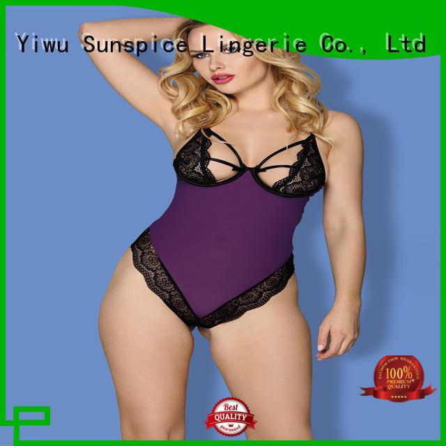 Sunspice lingerie womens teddy lingerie for business for ladies