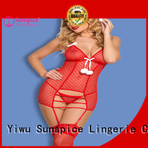 Sunspice stylish santas lingerie suitable for ladies