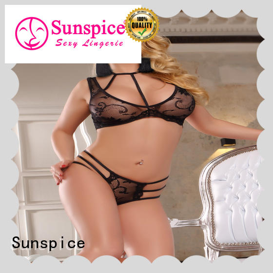 good quality crotchless teddy lingerie chose for women