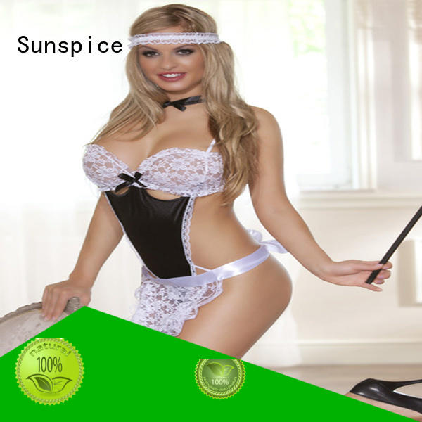 Wholesale french maid lingerie maid supply for adults