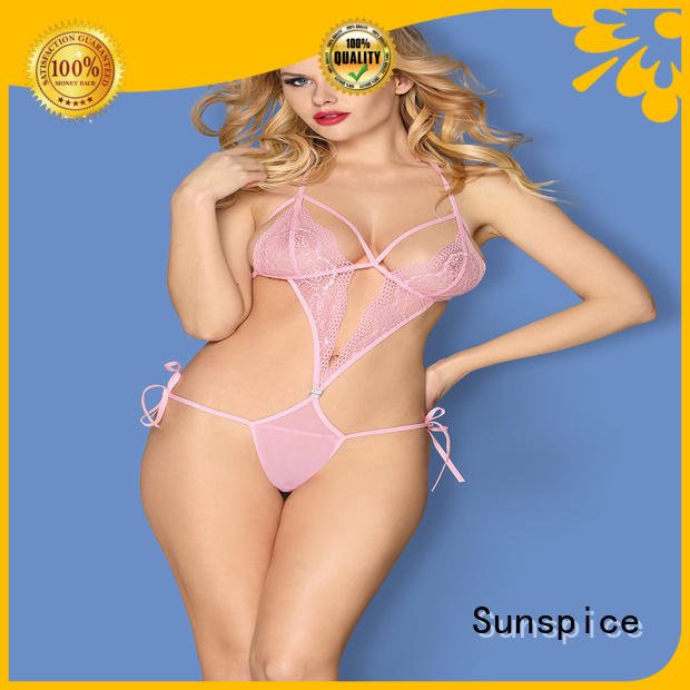 Sunspice lingerie underwire teddy suppliers for female