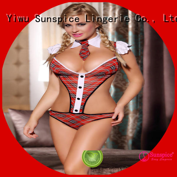 Sunspice Wholesale sexy school girl costume for sale for ladies