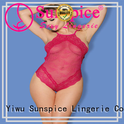 Sunspice teddy one piece teddy suppliers for female
