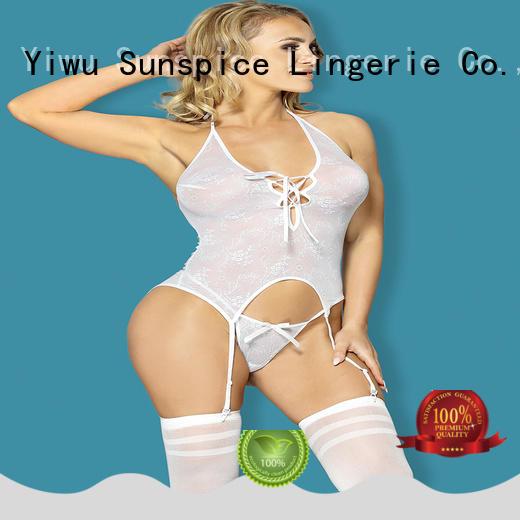 Sunspice Best garter lingerie set supply for female