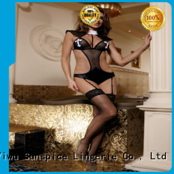 Sunspice Wholesale womens sexy nun costume supply for adults