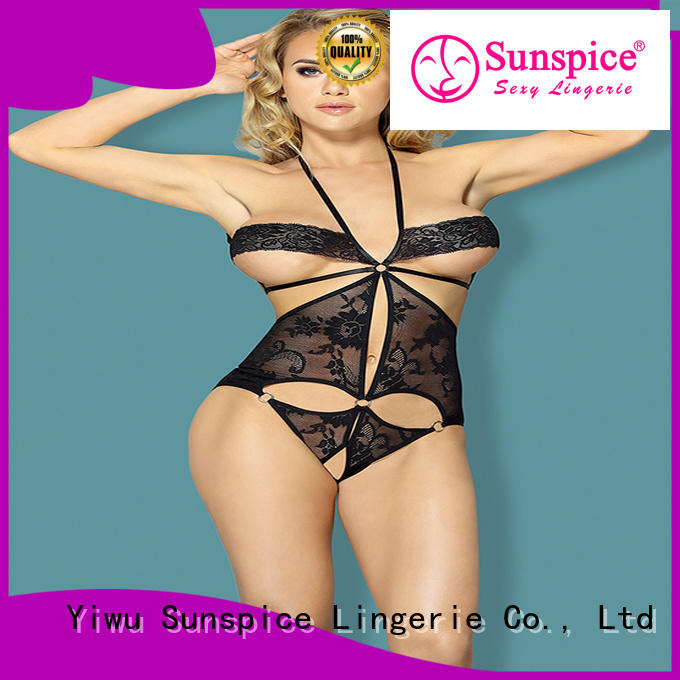 Custom one piece teddy lingerie supply for adults
