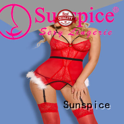 Sunspice red lingerie christmas chose for women