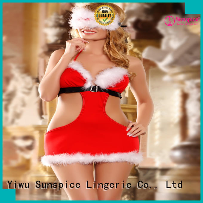 Sunspice santa lingerie set chose for ladies