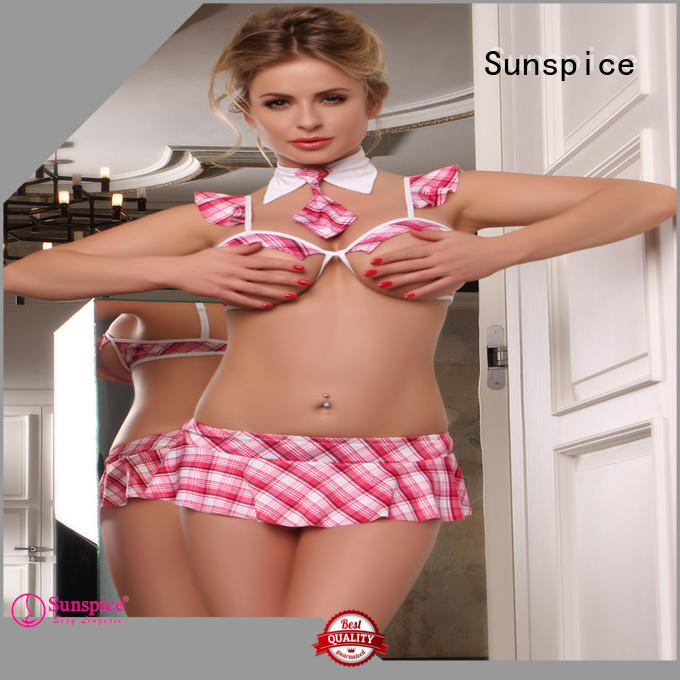 Sunspice costume school girl outfit lingerie for business for women