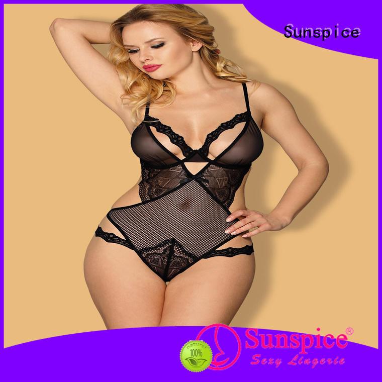 Sunspice professional one piece teddy lingerie idea for female