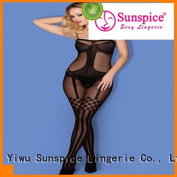 Latest one piece body stocking h1068 manufacturers for women