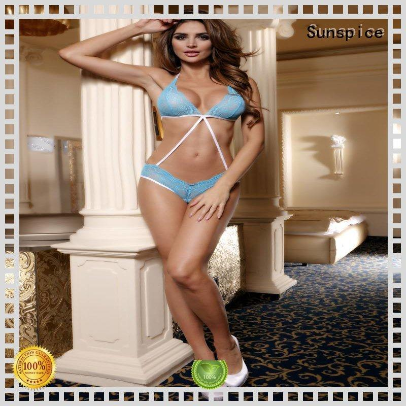 Sunspice lingerie one piece teddy lingerie manufacturers for women
