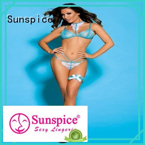 Sunspice cute honeymoon lingerie chose for female