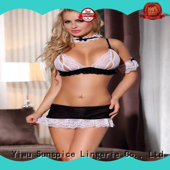 Sunspice maid sexy maid costume for sale for ladies