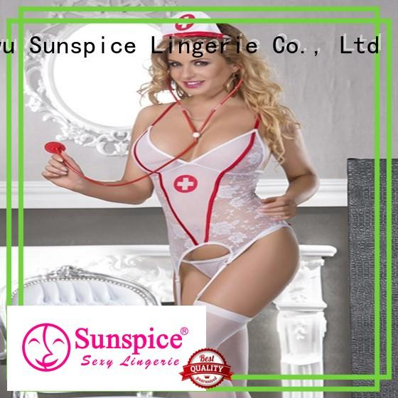 Sunspice costume sexy nurse halloween costume factory for female
