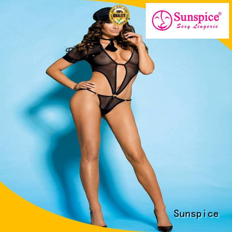 Sunspice New sexy police dress for sale for female