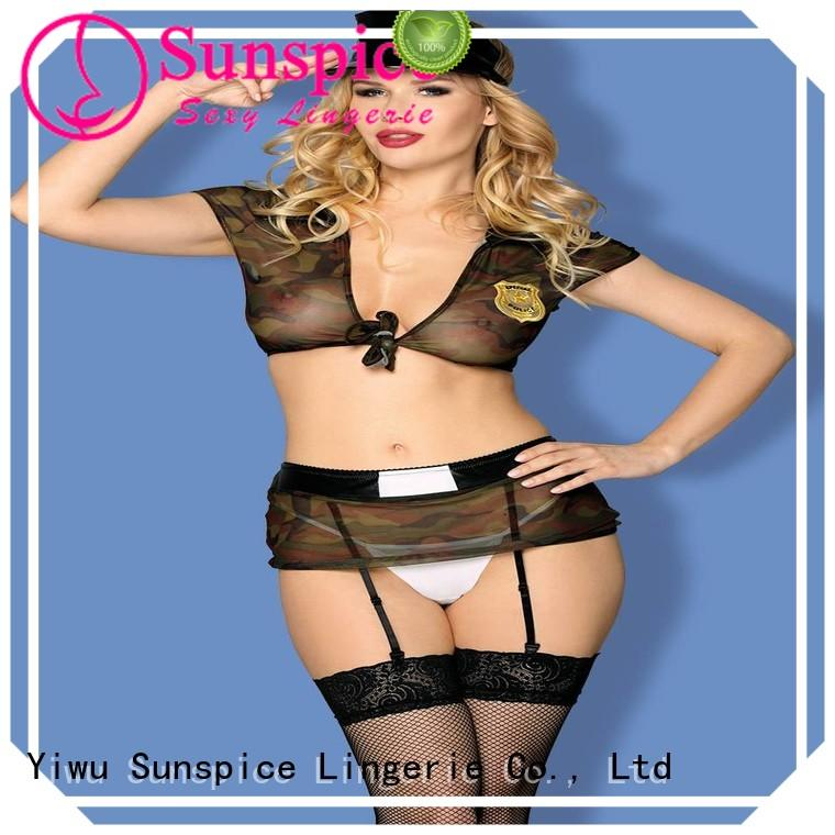 Wholesale sexy police girl costume cop factory for women