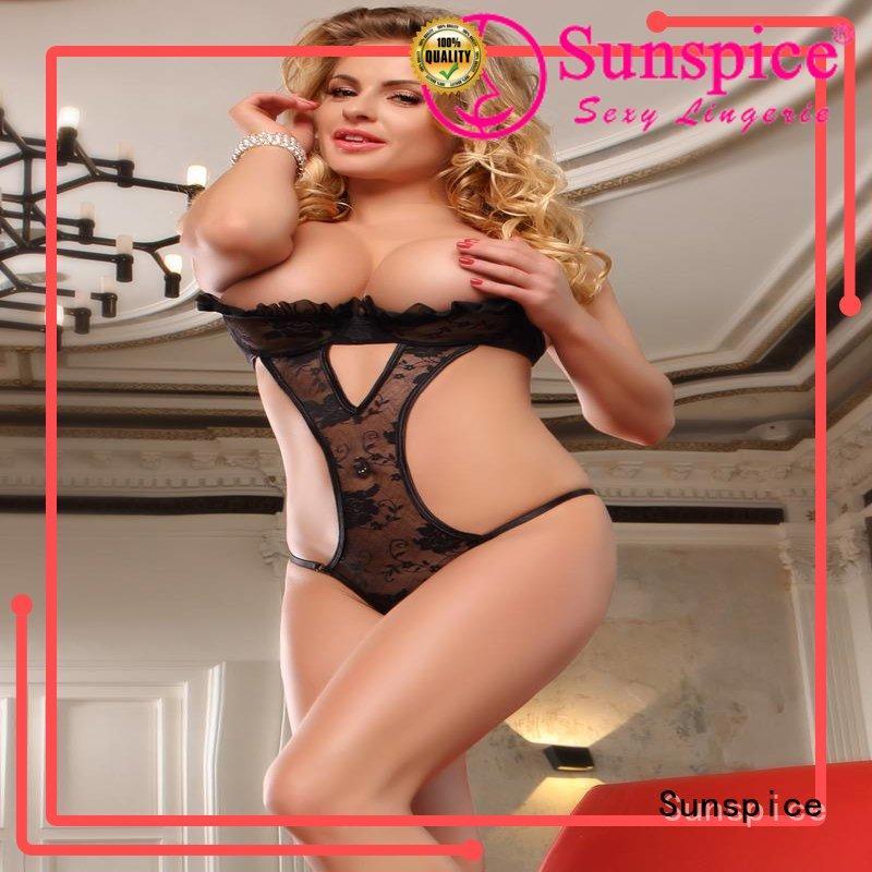 Top cheap teddy lingerie lingerie factory for ladies