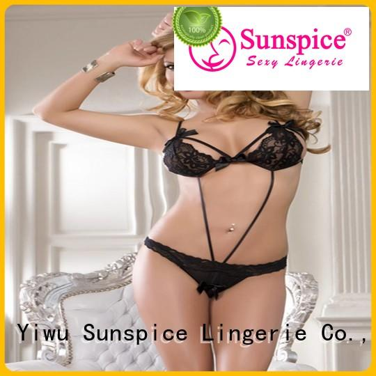 New cheap teddy lingerie lingerie factory for ladies