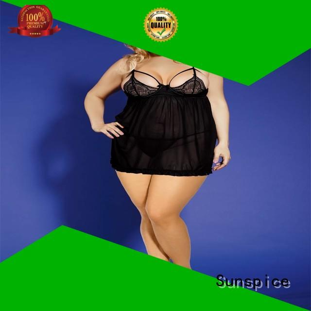 Sunspice size plus lingerie for business for ladies