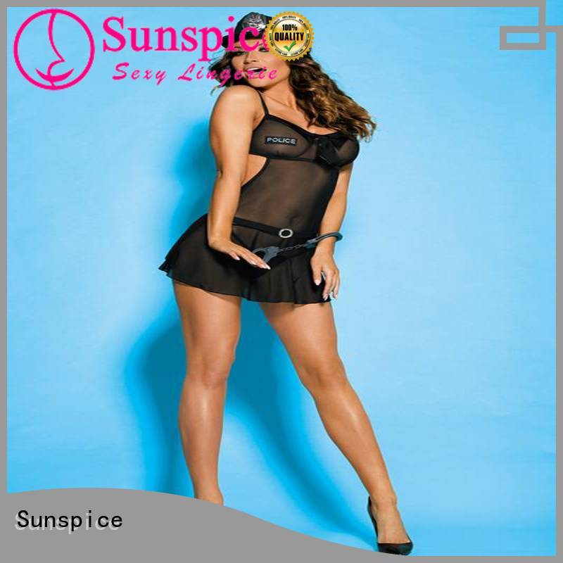 Sunspice High-quality sexy police dress factory for adults