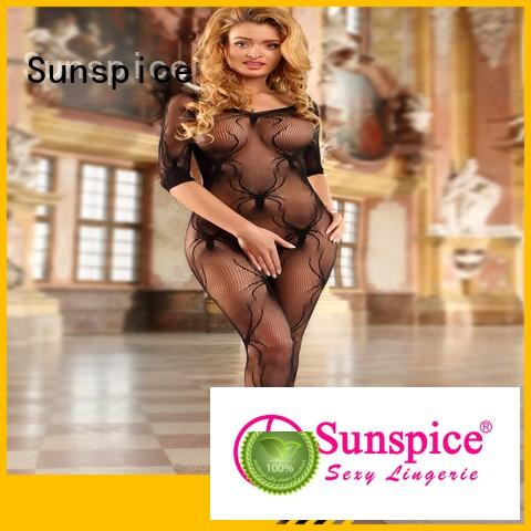 Sunspice Best one piece body stocking company for ladies