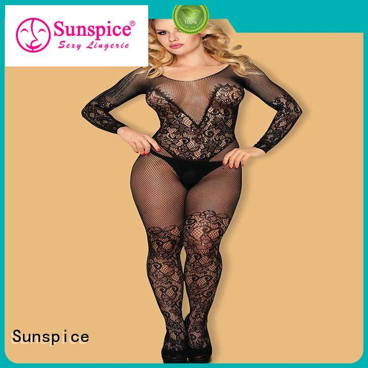 Sunspice bodystocking ladies body stockings suppliers for ladies