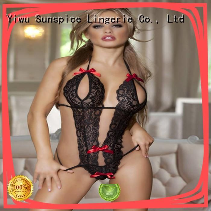 Sunspice lingerie teddy undergarment suppliers for ladies