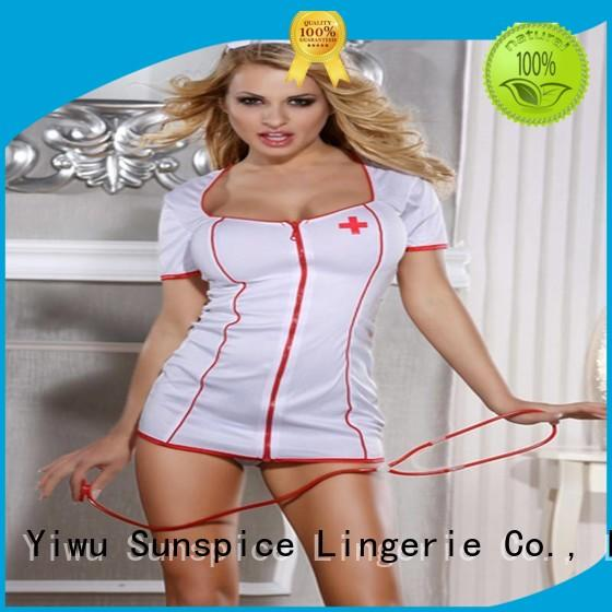 Sunspice Custom sexy nurse halloween outfit company for ladies