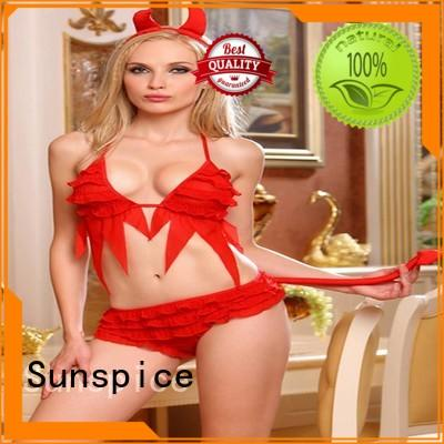 Best sexy devil lingerie costume for business for female