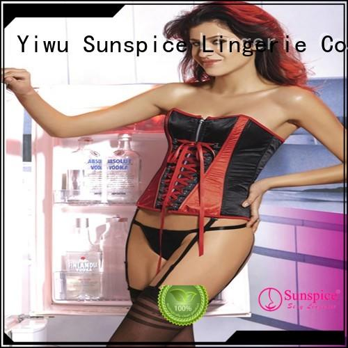 Latest cheap corset lingerie corset supply for female
