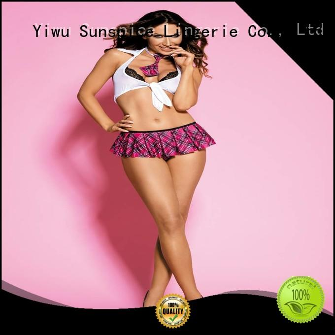Sunspice Wholesale sexy school girl lingerie suppliers for female
