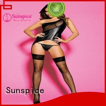 Sunspice Top garter belt set wedding supply for female