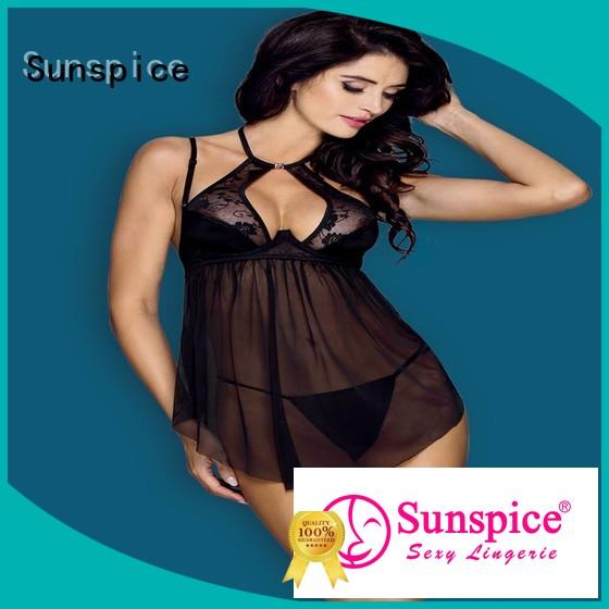 Sunspice lingerie baby doll nightgowns supply for adults