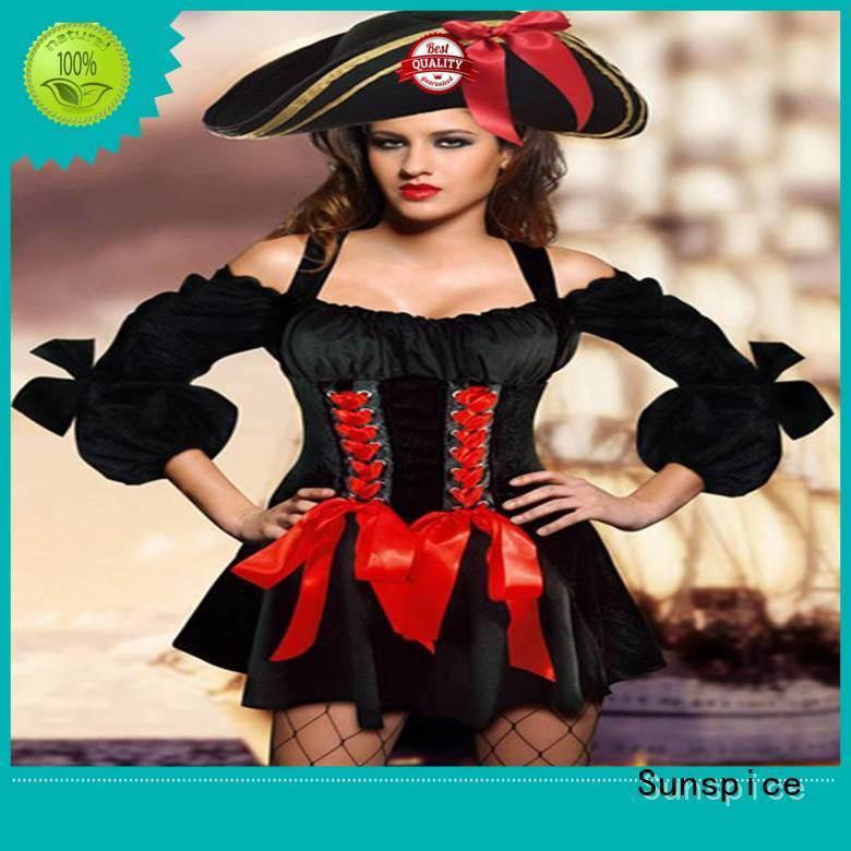 Sunspice Latest sexy female pirate costume supply for ladies