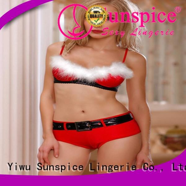 fancy santa claus lingerie female