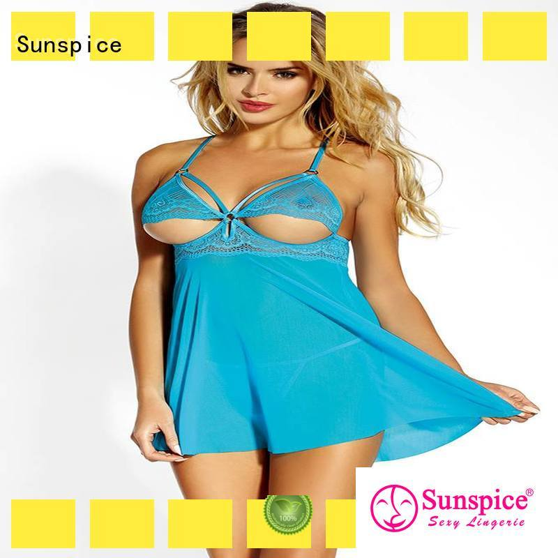 Sunspice underwire babydoll nighties chose for women